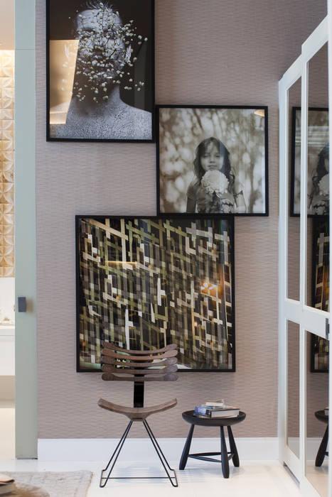 Denise Barretto Arquitetura Nowoczesna sypialnia