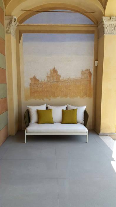 Il divanetto balcone veranda terrazza in stile moderno for Divanetto da balcone