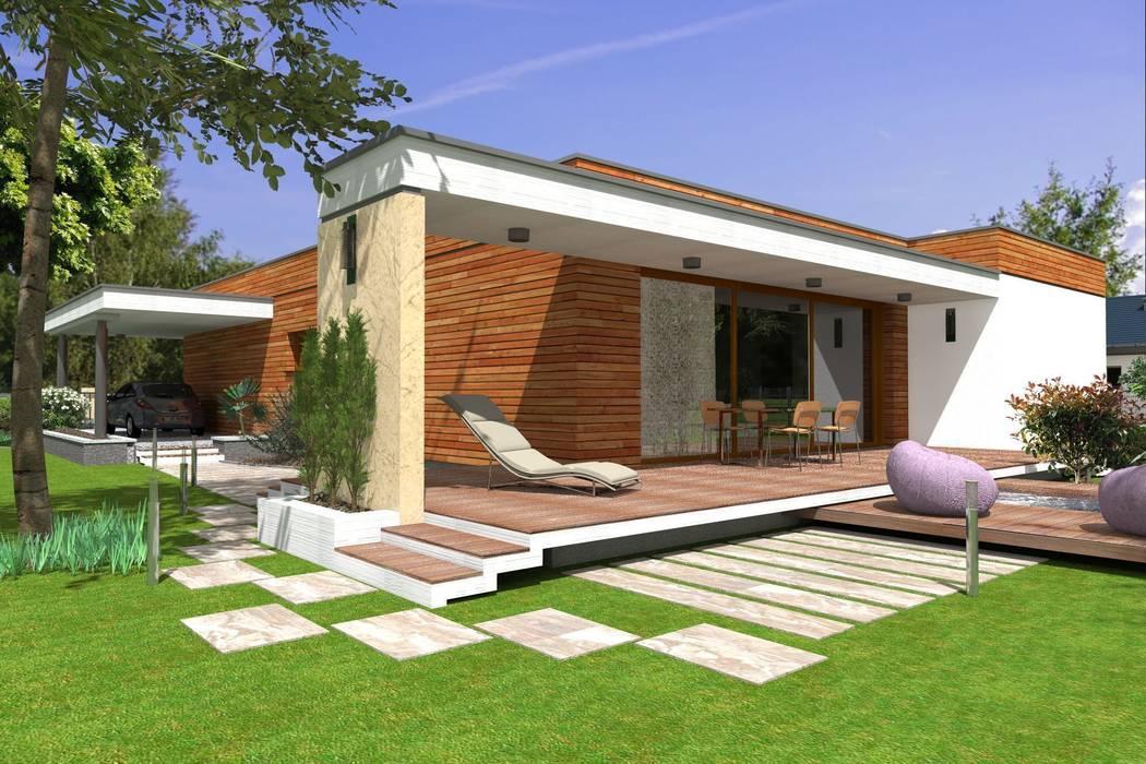 ABC Pracownia Projektowa Bożena Nosiła - 1 Modern houses