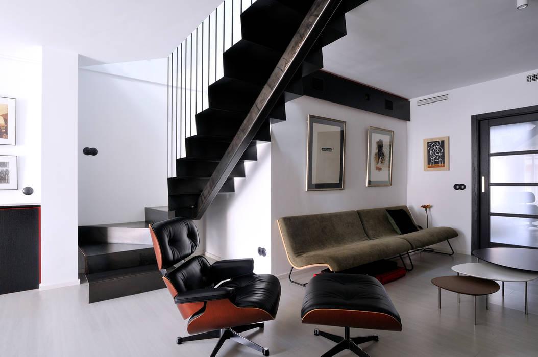 Soggiorno minimalista di faa fraguell arquitectes for Soggiorno minimalista