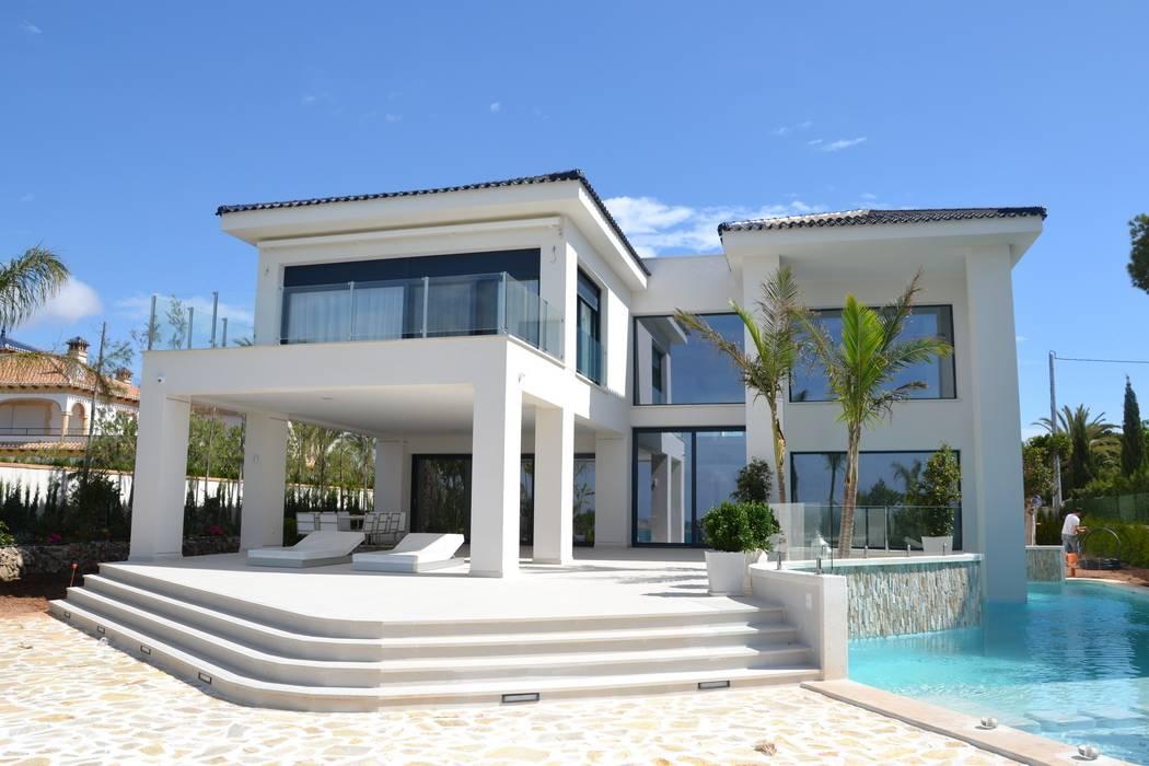 Casas de estilo mediterráneo de Alicante Arquitectura y Urbanismo SLP Mediterráneo