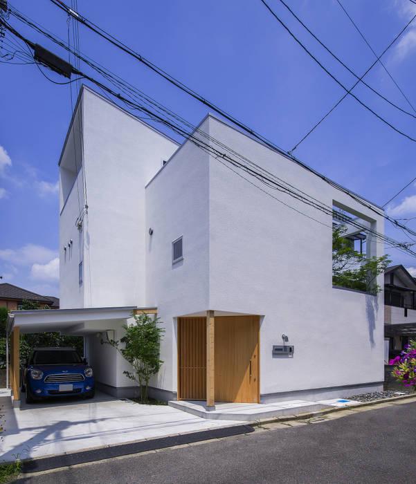 外観 モダンな 家 の プラスアトリエ一級建築士事務所 モダン
