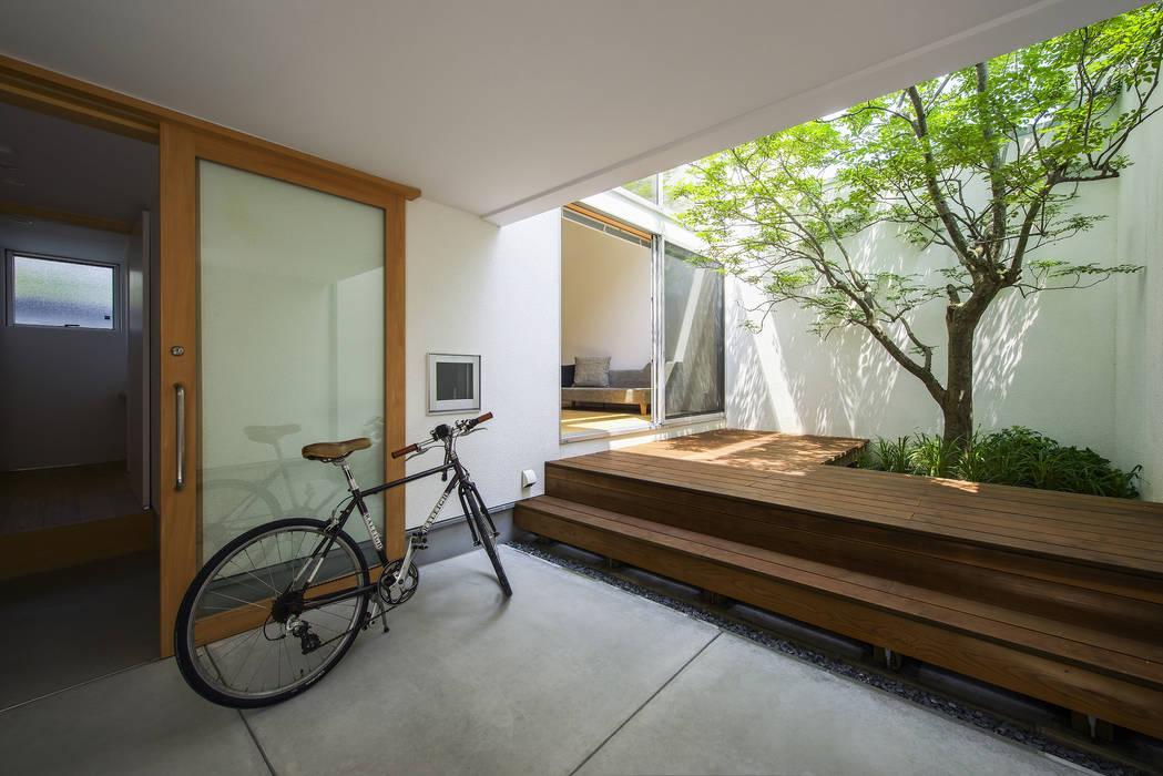 プラスアトリエ一級建築士事務所 Terrace Wood Wood effect