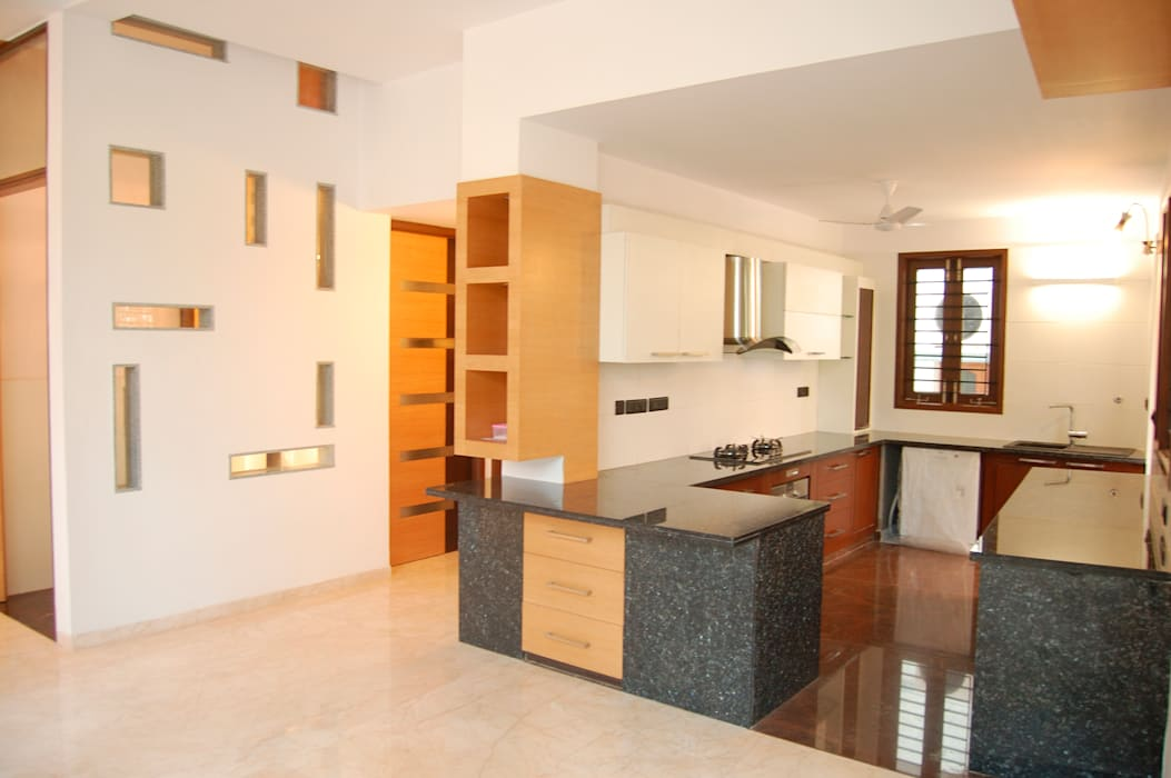 Muraliarchitects Modern kitchen