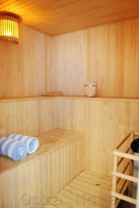 Sauna - SPA: Spa de estilo  por Opra Nova