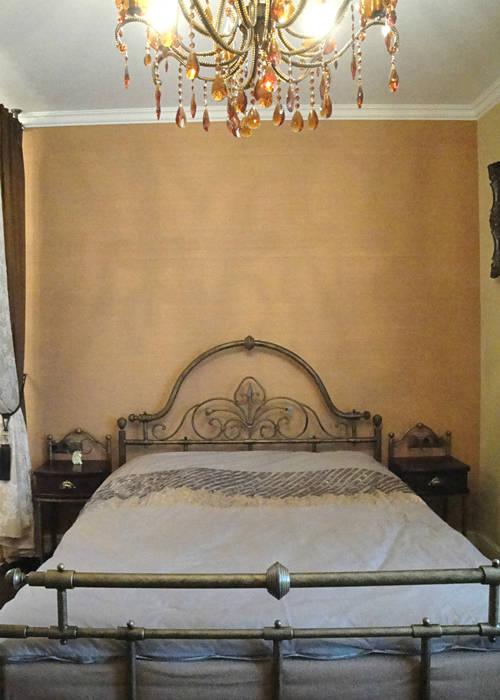 Stylowa sypialnia: styl , w kategorii Sypialnia zaprojektowany przez ,,Goya Art'' Małgorzata Świderska