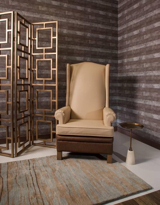 Pasillo : Vestíbulos, pasillos y escaleras de estilo  por UNUO Interiorismo