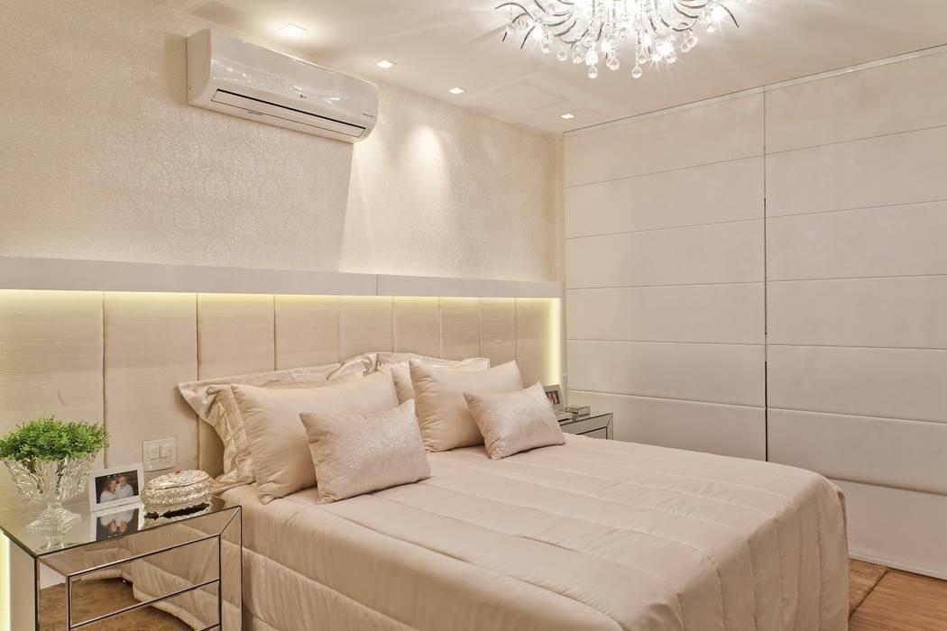 Clássico ao Luxo Quartos minimalistas por Mariane e Marilda Baptista - Arquitetura & Interiores Minimalista