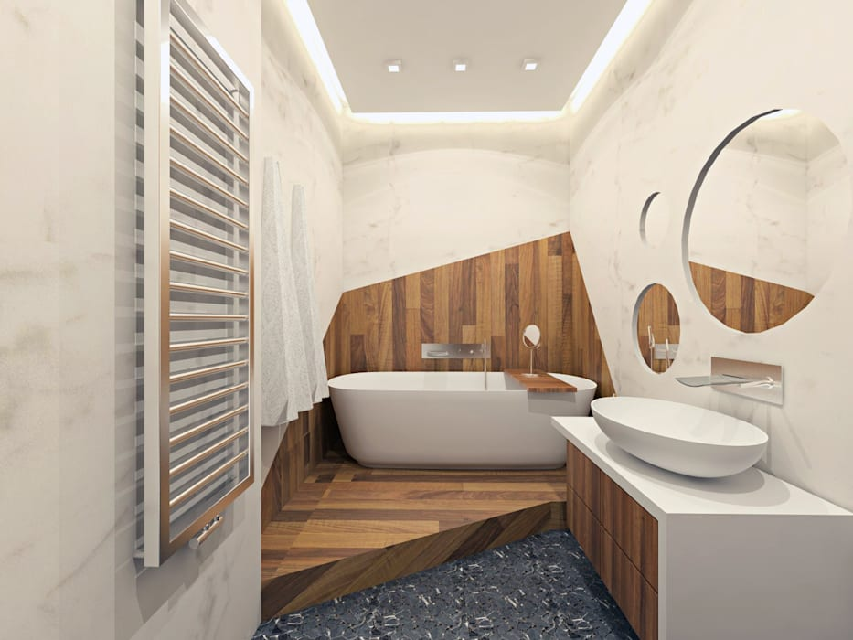 Minimalist style bathroom by AFTER SPACE Minimalist