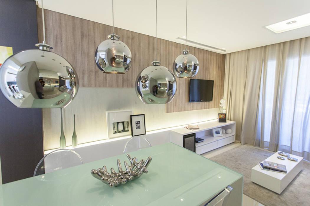 Modern Oturma Odası POCHE ARQUITETURA Modern