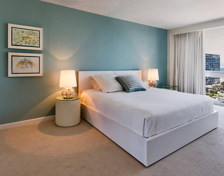Modern style bedroom by Weber Arquitectos Modern