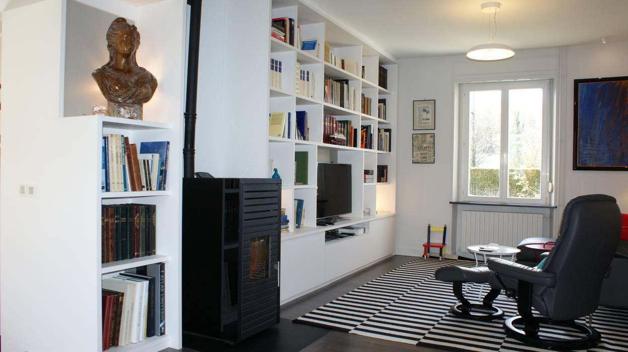 Meuble Sur Mesure Salon meuble sur mesure salon salon moderne par agence c+design