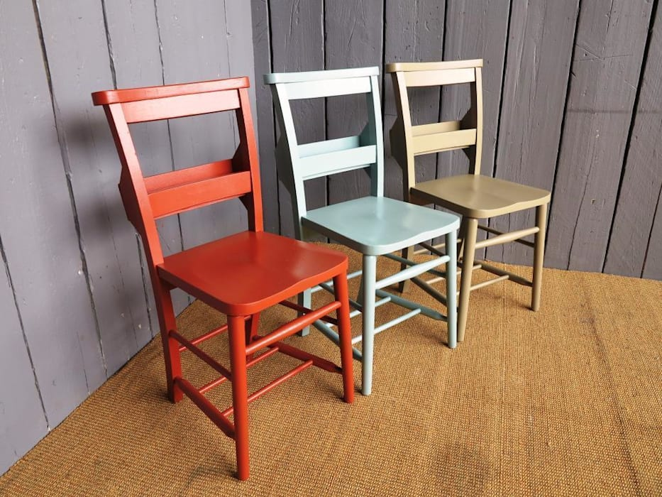 Solid Colour Chair Painting Service: classic Kitchen by UK Architectural Antiques