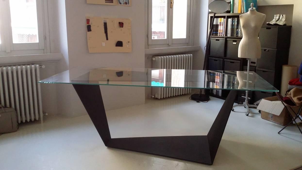 Tavolo Da Pranzo Industriale : Trapeze tavolo di design sala da pranzo in stile in stile