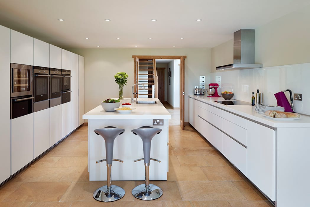 Barn Conversion With A Bulthaup B1 Kitchen Kitchen By Hobsons