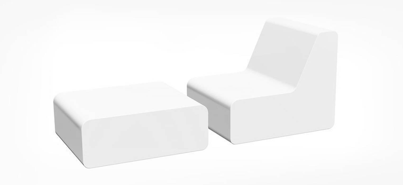 Soft Lounge Liege Balkon Veranda Terrasse Von Produktsalon