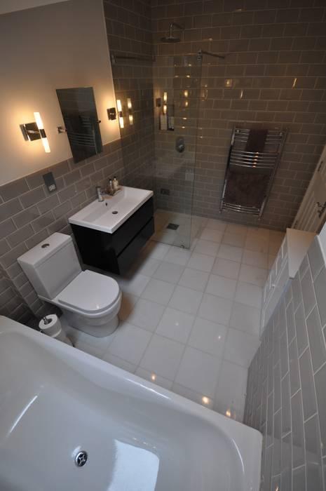 Ванные комнаты в . Автор – homify, Модерн