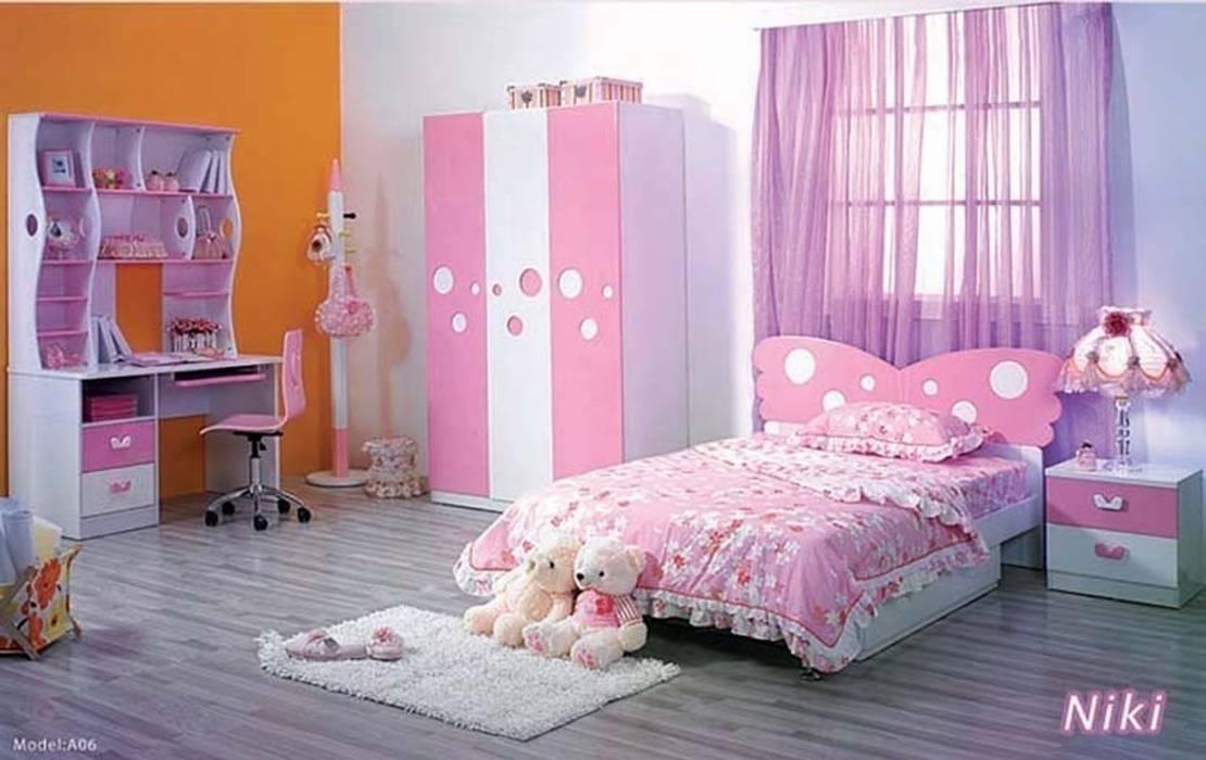 Kid's room:  Nursery/kid's room by Metro Wardrobes London