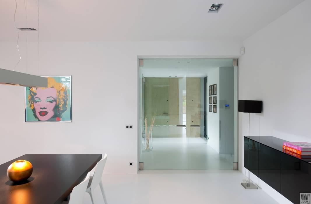 Dubbele glazen deuren van Anyway Doors Modern