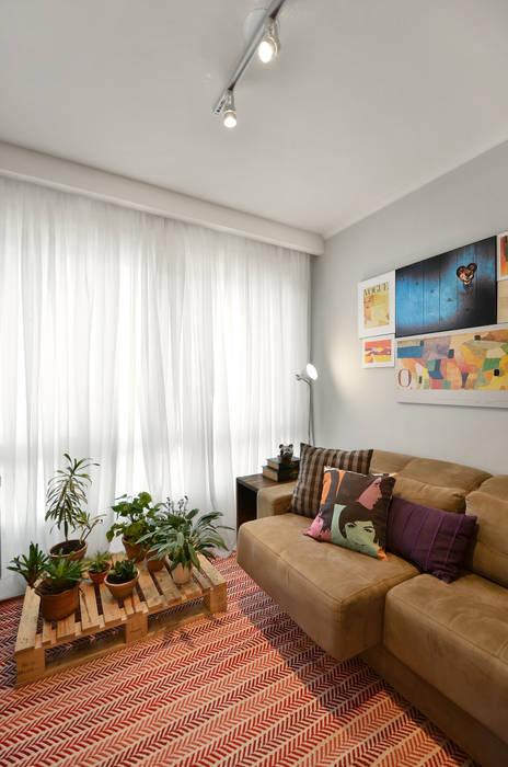 Moderne Wohnzimmer von CR Arquitetura&paisagismo Modern