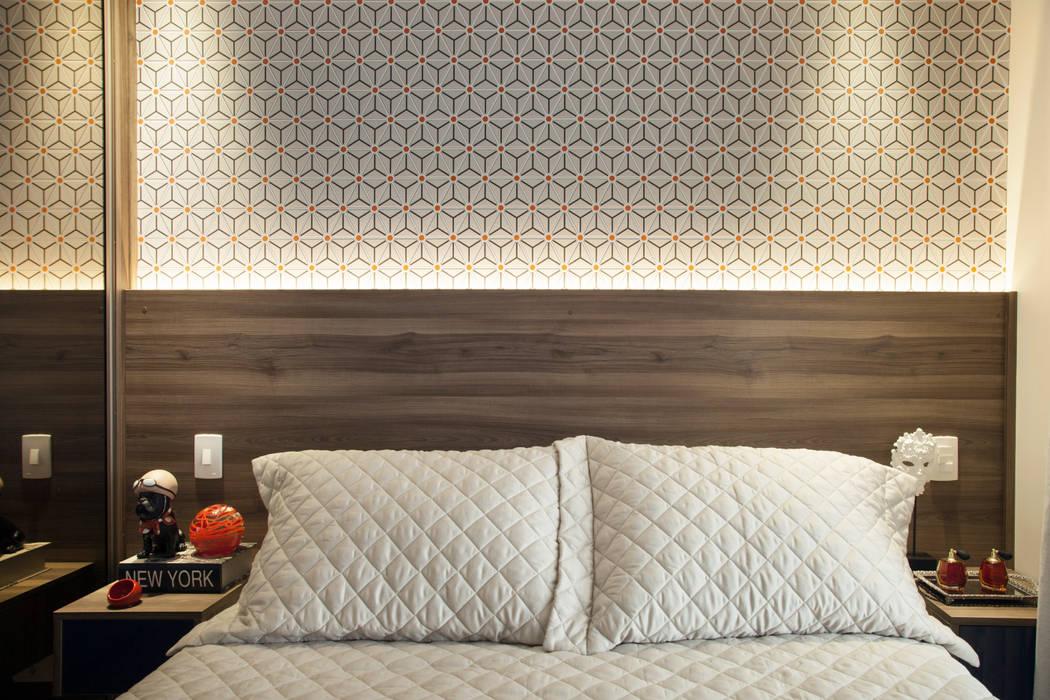 Slaapkamer door Biarari e Rodrigues Arquitetura e Interiores