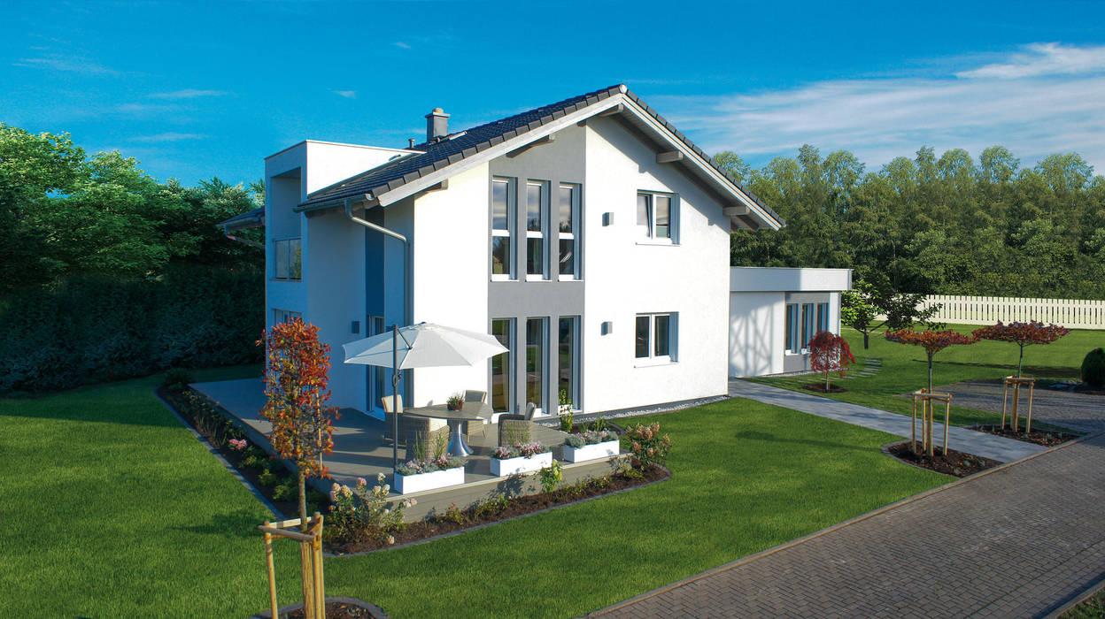 Maisons de style  par ELK Fertighaus GmbH, Moderne