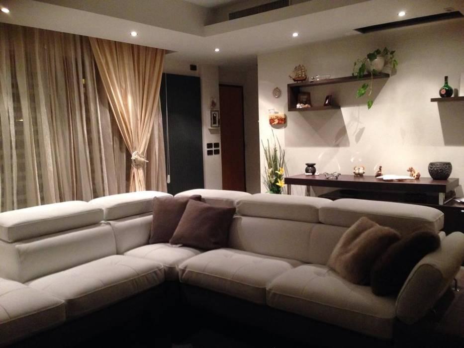 Progetti da interior designer: soggiorno in stile di progetti nuova ...