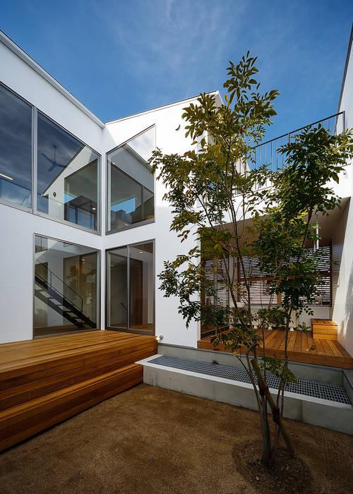wrap 一級建築士事務所haus 北欧デザインの テラス