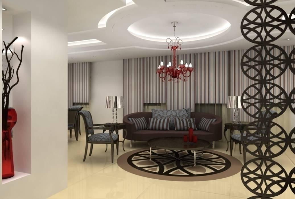 Premier salon: Salon de style de style Classique par michel bandaly