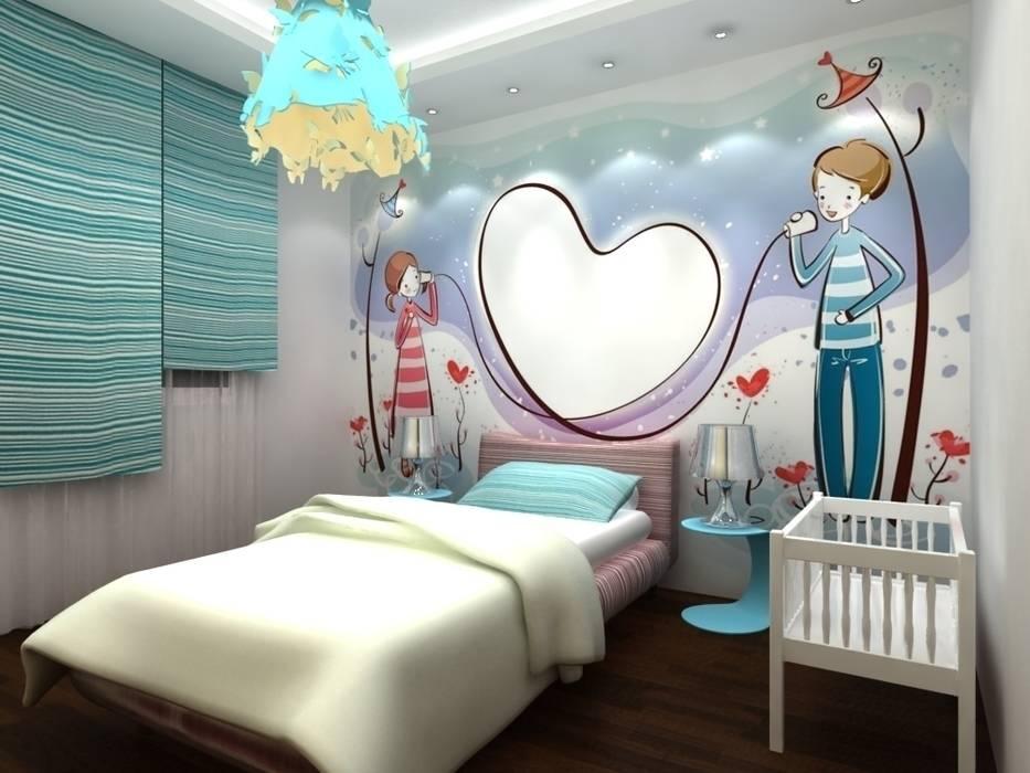 chambre à coucher pour petit: Chambre d'enfant de style de style Moderne par michel bandaly