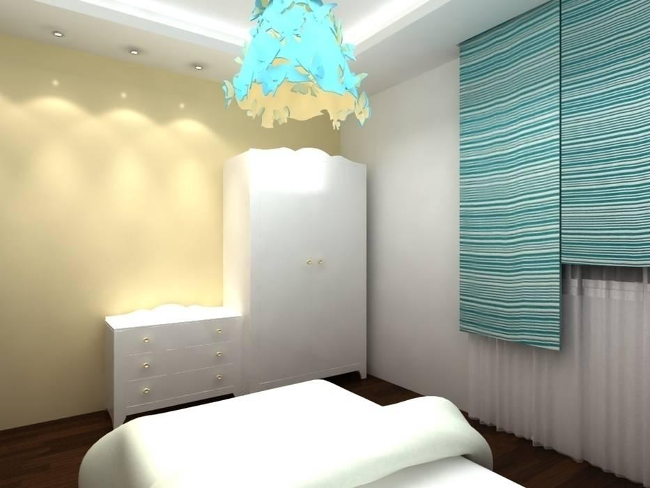 chambre à coucher pour petit: Chambre d'enfant de style  par michel bandaly