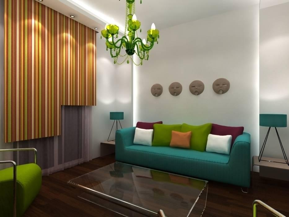 Salle de séjour: Salon de style de style Moderne par michel bandaly