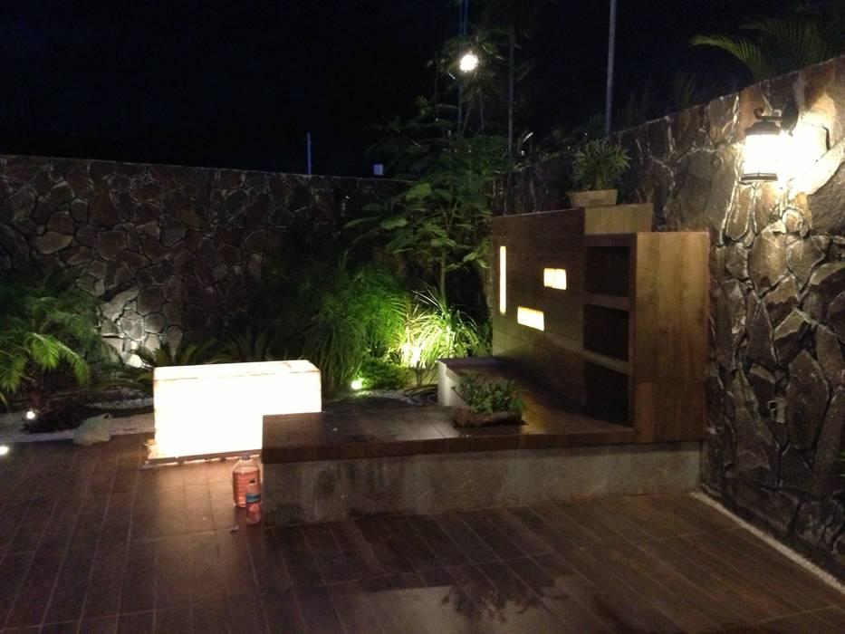 Diseno en Terraza Balcones y terrazas modernos de TMC Moderno
