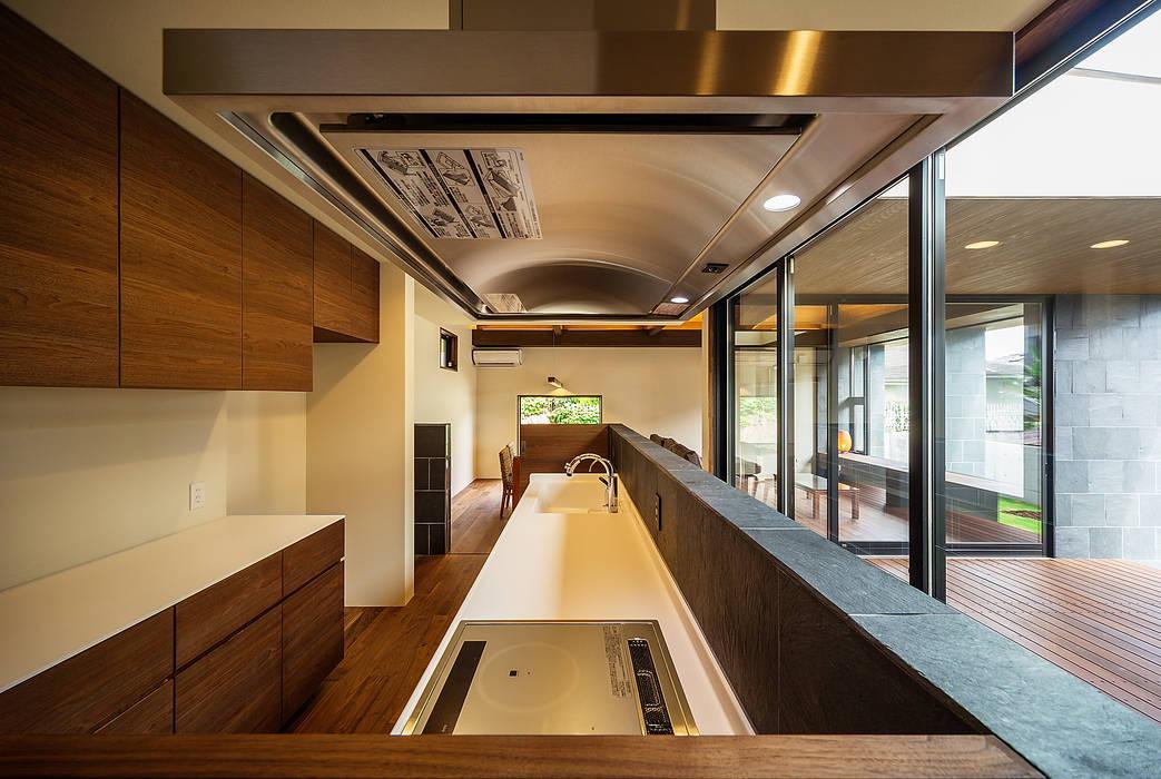 Dapur Gaya Asia Oleh 一級建築士事務所haus Asia