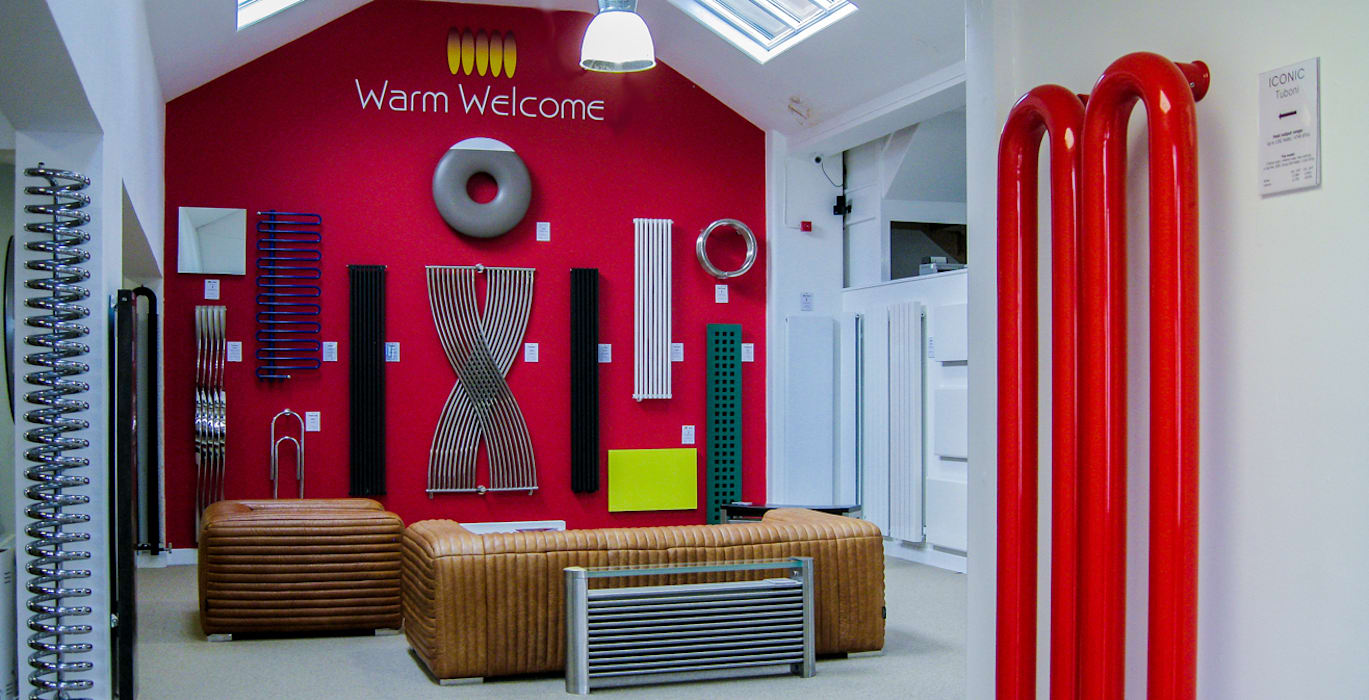 The largest radiator showroom in the UK Feature Radiators Ruang Komersial Modern