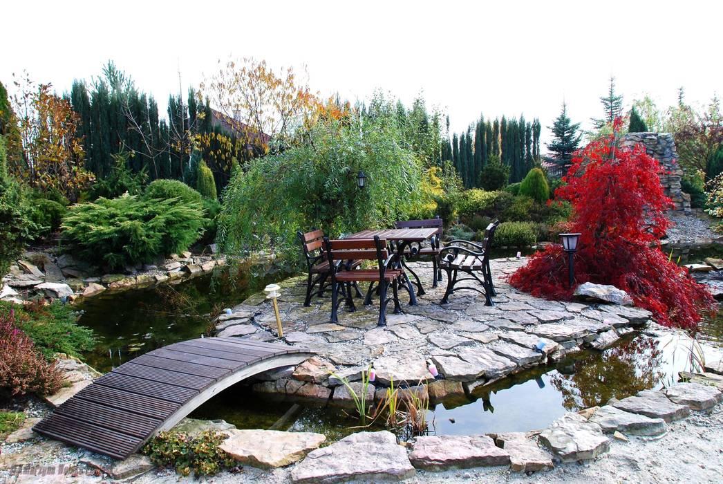 Wypoczynek nad wodą Klasyczny ogród od Centrum ogrodnicze Ogrody ResGal Klasyczny