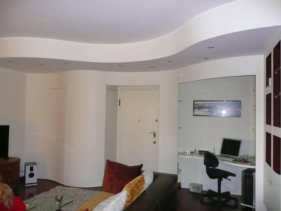 Living-room suite: wave: Soggiorno in stile in stile Moderno di Fausti cucine arredamenti