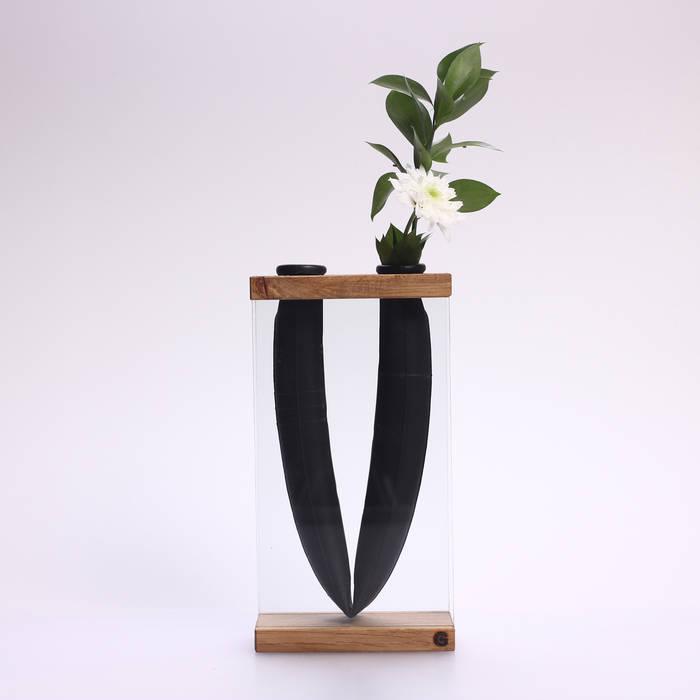 Vase VLORI von Groegl Upcycling Ausgefallen