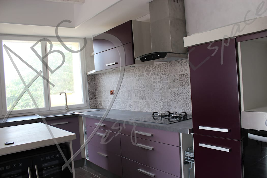 ABC Design d'Espace Modern kitchen