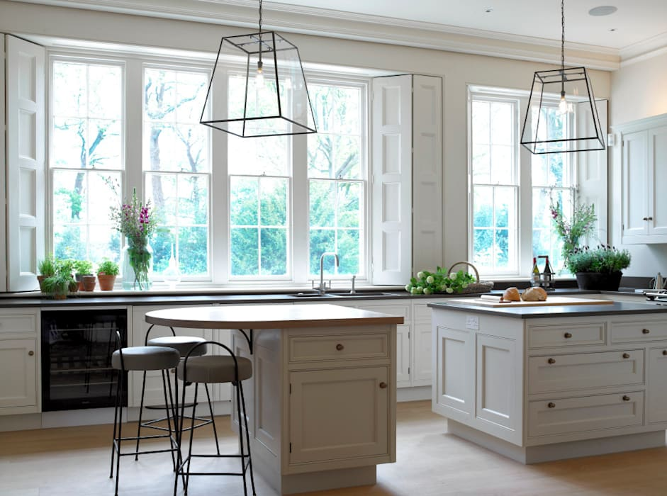 Traditional kitchen, Manor Farm, Oxfordshire Concept Interior Design & Decoration Ltd Country style kitchen