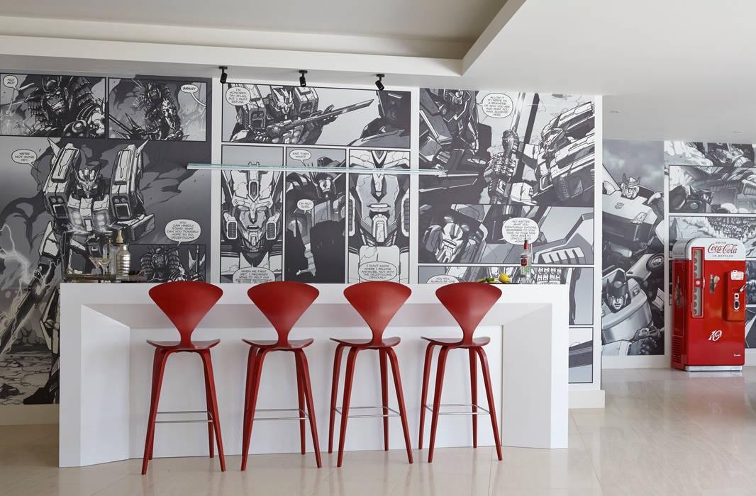в современный. Автор – Concept Interior Design & Decoration Ltd, Модерн