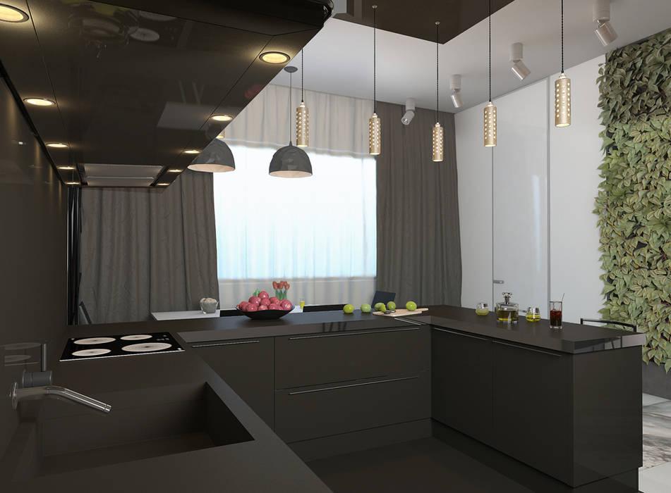 ultra modern Кухня в стиле минимализм от Nox Минимализм