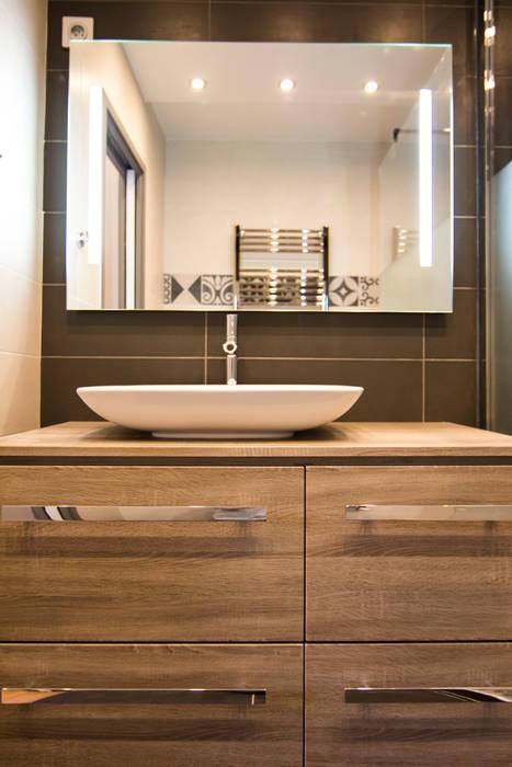 Salle de douche de la suite parentale: Salle de bains de style  par Anne Martins Design