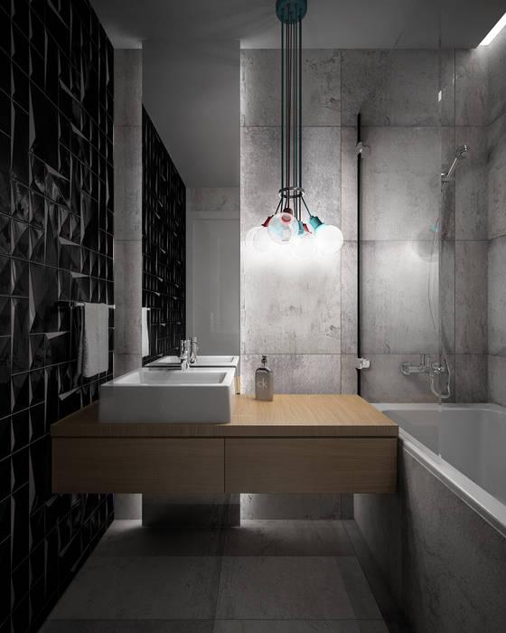 Wiktoria Ginter - interiorismo Moderne Badezimmer