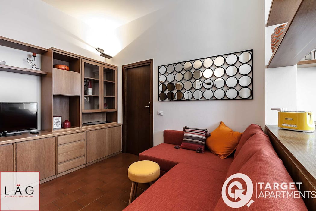 Salon moderne par Architrek Moderne