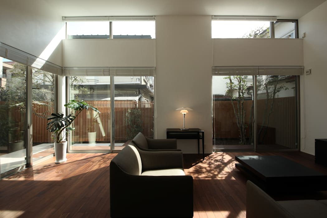 Modern Living Room by TERAJIMA ARCHITECTS Modern