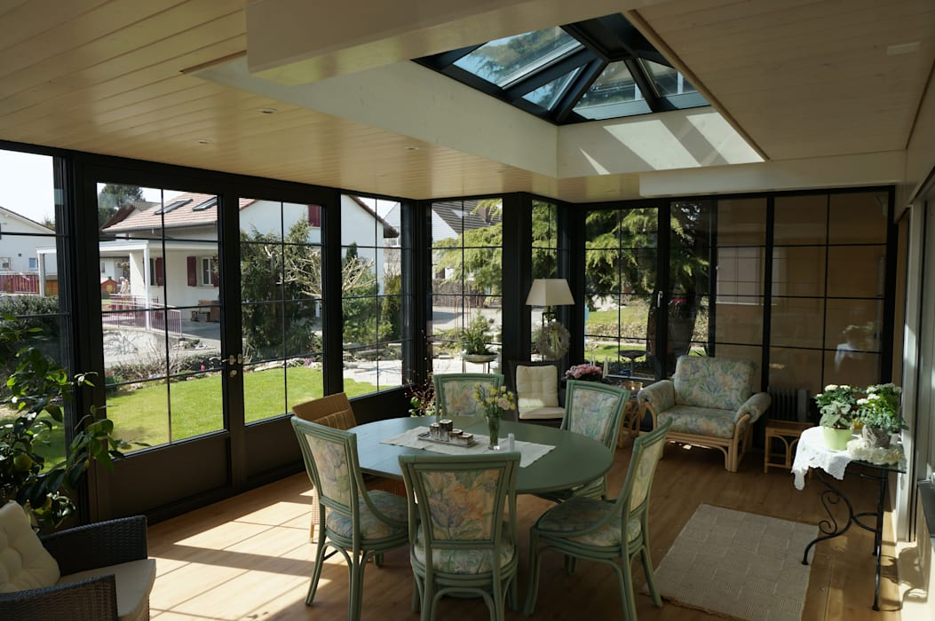 Terrace by Blaser exclusive Wintergardens, Classic Aluminium/Zinc
