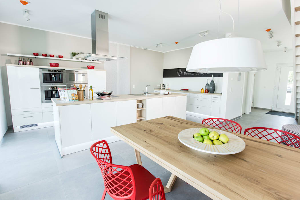 Neues musterhaus simmern: küche von massa haus gmbh,modern ...