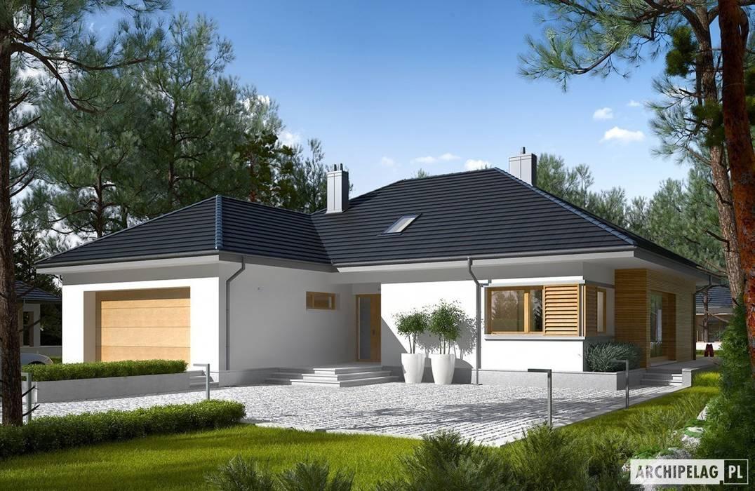 Projekt domu Marcel III G2 Pracownia Projektowa ARCHIPELAG Nowoczesne domy