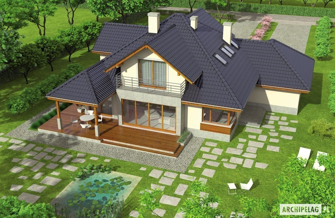 Pracownia Projektowa ARCHIPELAG Maisons modernes